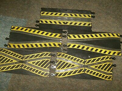 Scalextric Classic Track  2 X Crossover And Long Chicane • 9.99£