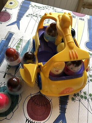 Weebles Wobbles Bus And 9 Weebles • 10£