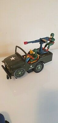 Modern Toys Japan  Jeep Tin Toys Battery Operated. Fully Working • 70£