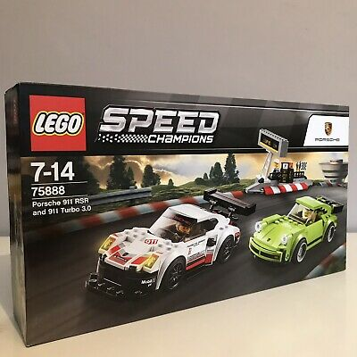 LEGO 75888 Speed Champions Porsche RSR And 911 Turbo 3.0 Race Ready Building Set • 49.89£