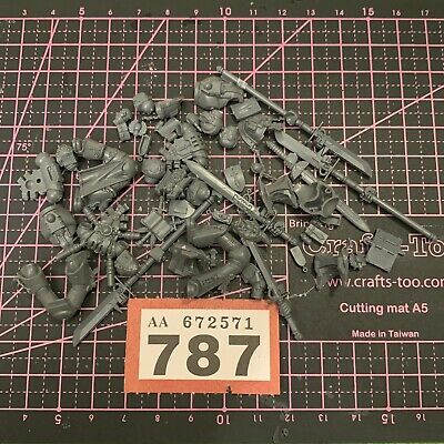 Grey Knight Space Marines Torso/Legs/Icons/Nemis Sword Warhammer 40k Spare Bits • 4.99£
