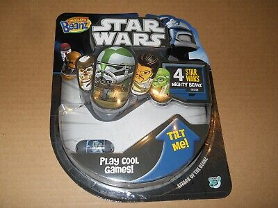 Star Wars Mighty Beanz 4 Pack - Clone Trooper Plus 3 Mystery Ones New • 14£