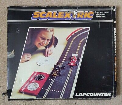 Scalextric Lap Counter With Speed Computer In Original Box. • 0.99£