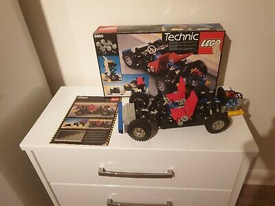 LEGO Technic Car Chassis (8860) With Original Instructions And 100% Complete • 54£
