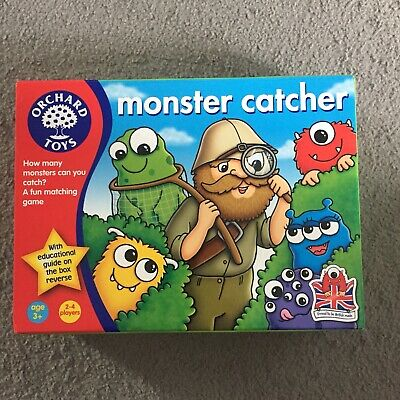 Orchard Toys Monster Catcher Game • 2.95£