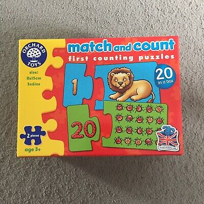 Orchard Toys Match And Count Puzzle • 2.95£