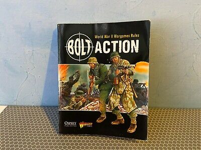 Warlord Games Bolt Action First Edition Paperback Mini Rule Book • 2.25£