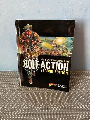 Warlord Games Bolt Action Second Edition Paperback Mini Rule Book 2 • 10£