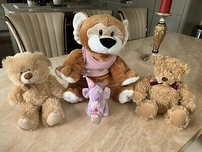 Soft Toy Bundle (4 Toys In Total) Theme Teddy Bears • 10£
