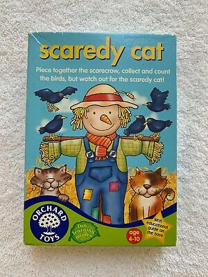 Orchard Toys - Scaredy Cat Game • 1.99£