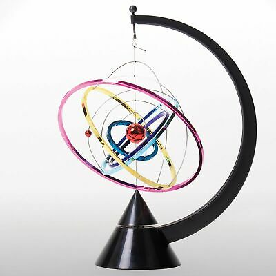 Orbit Kinetic Mobile Multi Coloured Rings Spin Continuous Motion Retro Motion • 22.09£
