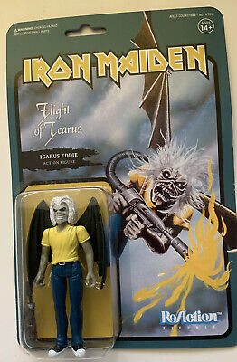 Super7 ReAction Figure Iron Maiden Flight Of Icarus Eddie MOC • 22.99£