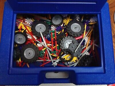 K'NEX Mixed Bundle With Ideas Books And  Case. Master Assortment. • 19.66£