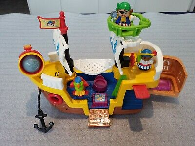 Fisher Price Little People Pirate Ship • 7.99£