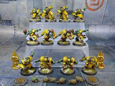 The Gouged Eye - Orc Blood Bowl Team Painted (B437) • 100£