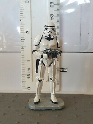 STAR WARS STORMTROOPER; DIECAST FIGURE. 60mm; EXCELLENT COND'n.  UNKNOWN MAKER. • 4.99£