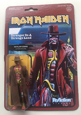 Super7 ReAction Figure Iron Maiden Stranger In A Strange Land Eddie MOC • 24.99£