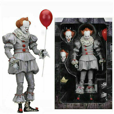 NECA Stephen King's It The Clown Pennywise PVC Horror Action Figure Model Toys • 13.96£