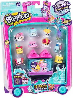 Shopkins World Vacation Toy Set -12 Pack • 8.25£