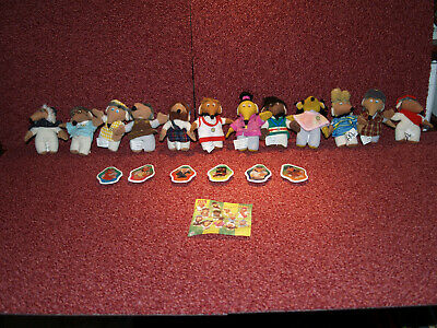 Mcdonalds Happy Meal Toys-  FULL Set! - WOMBLES - Issued 1999- UK • 26£