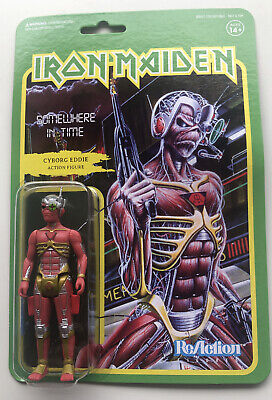 Super7 ReAction Figure Iron Maiden Somewhere In Time Eddie MOC • 22.99£