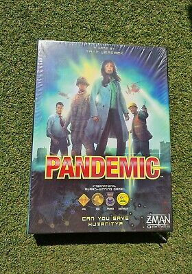 Pandemic Z-Man Games - New And Sealed - Gift Home Entertainment Board Game 2012 • 29.99£