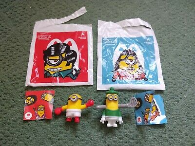 McDonalds Happy Meal Toy UK 2020 Minions Rise Of Gru Figures -New • 2.49£