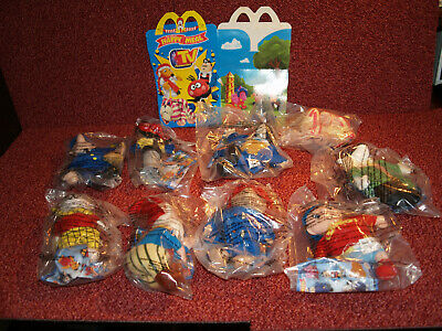 Mcdonalds Happy Meal Toys MIP Unopened FULL Set! - TV FAVOURITES -2001 • 23£