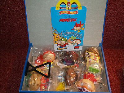 Mcdonalds Happy Meal Toys MIP Unopened FULL Set! - LITTLE MONSTERS  -Issued 2002 • 26£