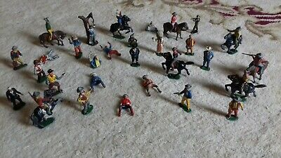 CollectionTimpo Fort Cowboys & Indians Union Cavalry 1960 / 70s Vintage  LOOK • 9.99£