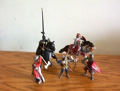 Schleich/Papo Lot Of Knights Figures. • 17.99£