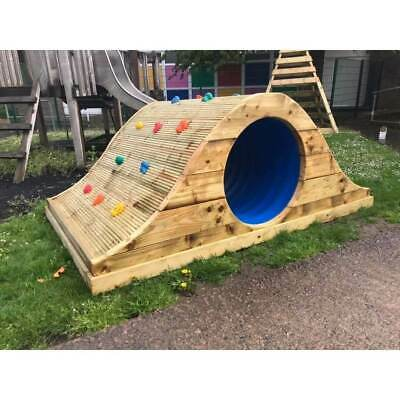 Tunnel Rockwall, Commercial, School Equipment, Playground, Climb, Sensory Unit • 639£