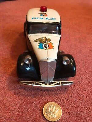 Tin Plate - Citroen Police Car - Made By Roman Spanish Model Makers • 380£