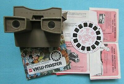 Fab Vintage Sawyers Viewmaster View Master Optical Toy With Reel & Leaflets • 1.75£