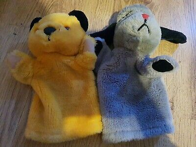 Sooty And Sweep Hand Puppets • 5.50£