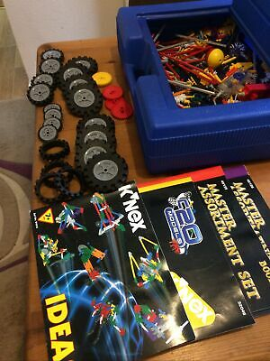 Job Lot Of Knex Pieces And Case • 9.99£
