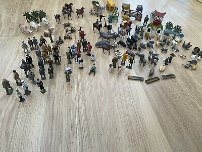 BRITAINS Etc VINTAGE LEAD FARM ANIMALS, FIGURES ACCESSORIES - Over 150 Items • 125£