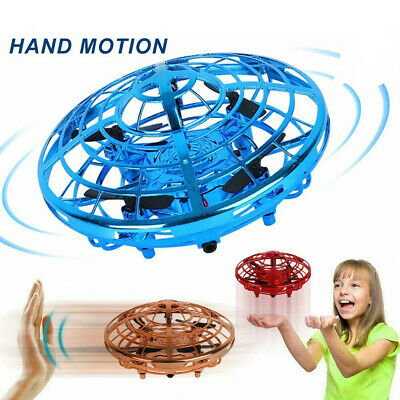 Mini Drone Quad Induction Levitation UFO Flying Toy Hand-controlled Kids Gift • 7.99£