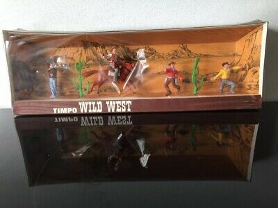 Timpo Toy Soldiers Wild West Cowboys • 27.99£