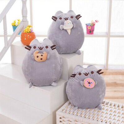 UK Pusheen The Cat - Pusheen With Cookie Plush Soft Toy Children's Gift 24cm • 9.88£