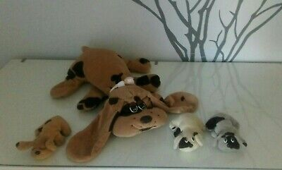 Rare Pound Puppies With 3 Pups 1984 • 2£