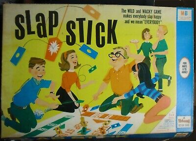 SLAP STICK,a TRIANG Action Game,2-4 Players.ColourfulVery Large Box.Vintage Item • 5.99£