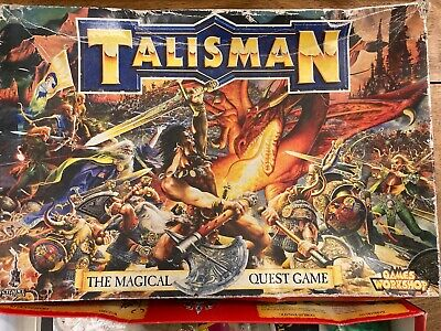 Games Workshop Talisman The Magical Quest Game 3rd Edition 1994 Unpainted • 110£
