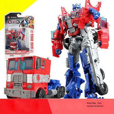 Transformers Optimus Prime Bumble Bee Classic Kids Action Figure Toy Xmas Gift • 10.99£