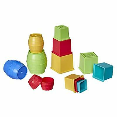 Stack And Nest Barrels And Blocks Bundle Toy For Babies And Toddlers • 14.99£