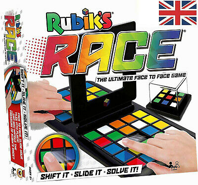 UK Rubiks Race Puzzle Board Game Mind Game Puzzle Kids Toy Xmas Gift 2020 • 9.98£