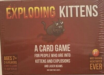 Exploding Kittens (original Edition) Best Quality Cards Brand New • 14.50£