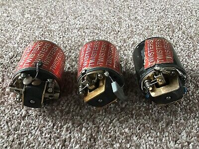 Twisters Modified And Stock Brushed Vintage Motors. Set Of 3 • 65£