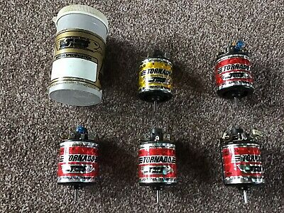 TMS Racing Tornado Brushed Vintage Modified Motors. Set Of 5 With Tub • 130£