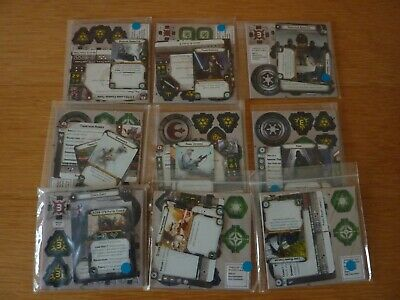 Star Wars Legion Tokens, Cards, Unused And Mint Condition, Still In Packets • 13.66£